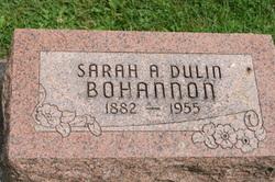 Sarah A <i>Dulin</i> Bohannon