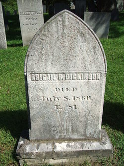 Abigail <i>Barrows</i> Dickinson