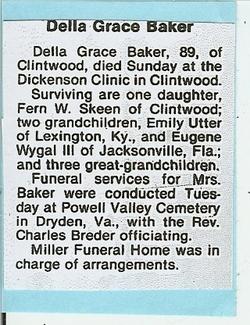 Della Grace Baker