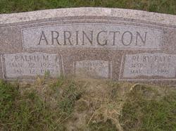 Ralph Maurice Arrington