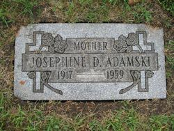 Josephine <i>Drozdowicz</i> Adamski