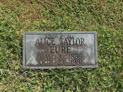 Alice Taylor Eure