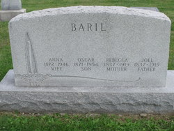 Rebecca <i>O'Heil</i> Baker Baril