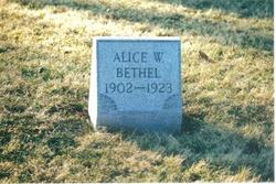 Alice Waneta Bethel