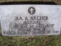Ira Albert Archer