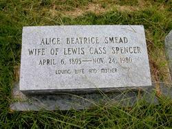 Alice Beatrice <i>Smead</i> Spencer