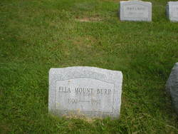Ella <i>Mount</i> Burr
