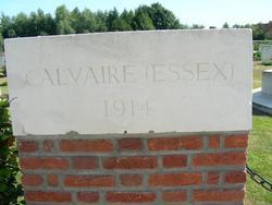 Calvaire (Essex) Military Cemetery