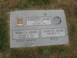 Thomas R Adams