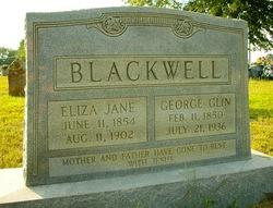 Eliza Jane <i>Coots</i> Blackwell