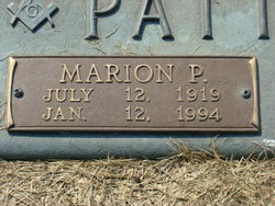 Marion Perry Pat Patterson