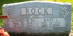 Howard Wilbur Rock, Sr