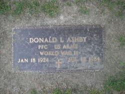 Donald L Ashby