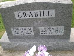 Edna E <i>Tyler</i> Crabill