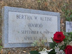 Bertha Orie <i>Wright</i> Altine