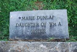 Marie Dunlap