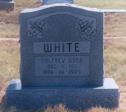 Halfrey Dyer H. D. or Dyer White