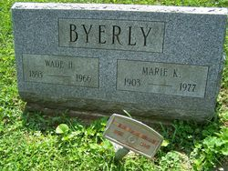 Marie K <i>Baughman</i> Byerly