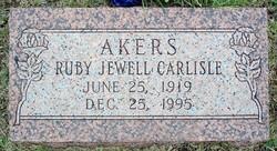 Ruby Jewell <i>Carlisle</i> Akers