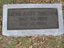 Lizzie Kate <i>McLaurin</i> Thigpen