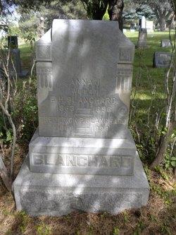 Anna J. <i>Brown</i> Blanchard