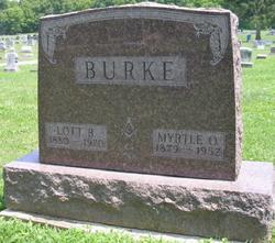 Myrtle Odessa <i>Brownlee</i> Burke