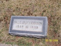 Sallie <i>Gray</i> Anderson