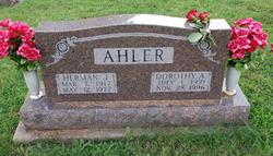 Dorothy A. <i>Munter</i> Ahler