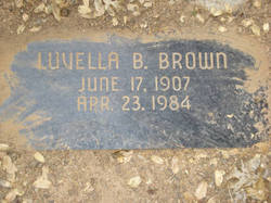 Luvella Blanche <i>Howdy</i> Brown