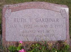 Ruth V. <i>Gardiner</i> Bradley