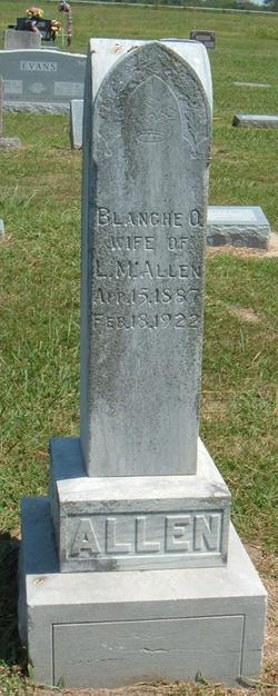 Blanchie O. Allen