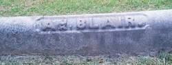 Lieut Adolphus Blair