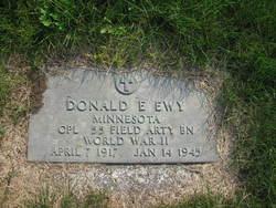 Donald E Ewy