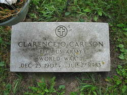 PFC Clarence O Carlson