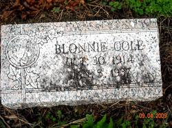 Blonnie Cole