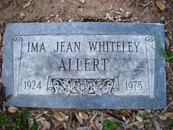 Ima Jean <i>Whiteley</i> Allert