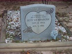 Betty Sue Pennington