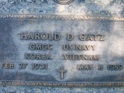 Harold D Gatz