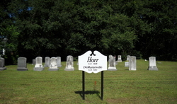 Horr and DeMaranville Cemetery