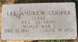 Lee Andrew Cooper