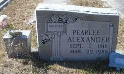 Pearlee Red <i>Brown</i> Alexander
