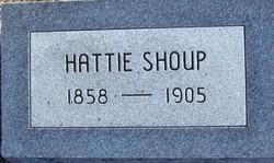 Harriet Hattie <i>Baker</i> Shoup