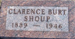 Clarence Bert Shoup