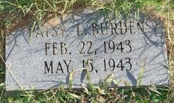 Patsy Louise Burden