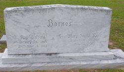 Roy Clifford Barnes