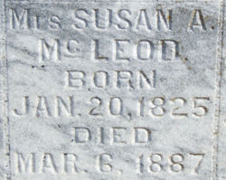 Susan Ann <i>Youngblood</i> McLeod