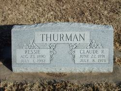 Claude Rosco Thurman
