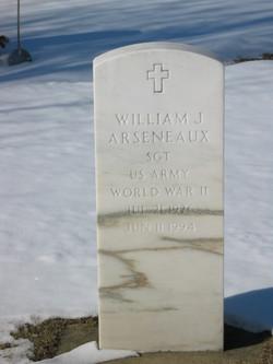 William J Arseneaux