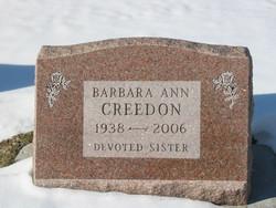 Barbara Ann Creedon