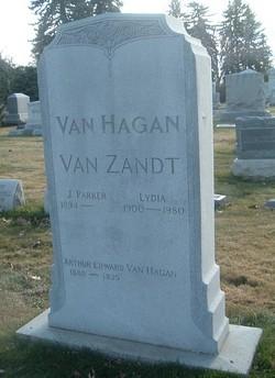 Lydia <i>Begole</i> Van Zandt
